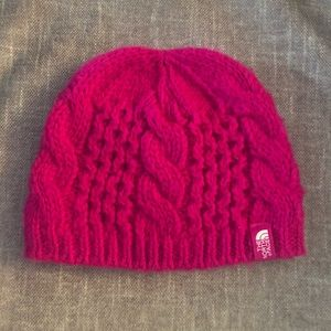 The Northface toddler girl knit hat